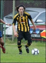 Kim Eriksson, f d bl a Sund och Kuben målade två gånger om för IFK Sundsvall i 3-2-segern.