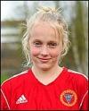 14-åriga Pauli-na Byström må-lade för Alnö.