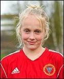 Paulina Byström, 14-årig målskytt.
