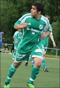 Haik Danielian blev matchhjälte för Ånge 2. Foto: Jeanette Reiser.