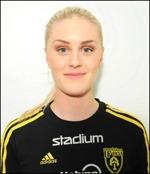 Linnea Lundgren leder skytteligan på fyra gjorda mål efter två omgångar.