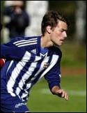 Joel Säterberg satte matchavgörande 2-1 för Kovland.