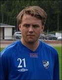 Nicklas Silversved satte två direkt i comebacken efter skada.