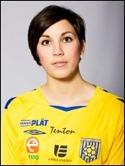 Gamle elitspelaren Anna Svärdsudd satte två för Sund.