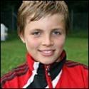 15-årigeMåns Lind satte ledningsmålet 1-2.