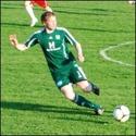 Mattias Svelander gjorde matchens enda mål mot Med-skogs.