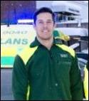"""Petter Bergius fick göra en """"ambulans-utryckning"""" på en hörna för att säkra Östavalls seger hemma på Skogs-vallen mot IFK Sundsvall 2."""