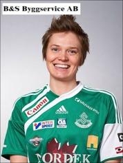 Josefin Larsson leder dam-ettans skytteliga.