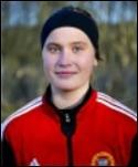 Maja Nyman grund-lade segern med sitt 1-0-mål.