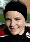 14-åriga Maxine Björkholm kom in efter paus och var bäst på plan.