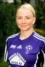 Paulina Larsson har smygit upp i toppen av damettans skytteliga.