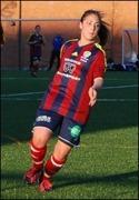 Hazal Altuntas gjorde fem mål när SFK 2 vann med 14-0 mot stackars SDFF 2.