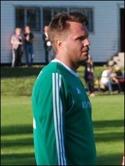 En rikgit profil, i dubbel bemärkelse. Marcus Sjöström stängde matchen med sitt straffmål till 3-1.
