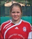 Clara Högbom svarade för ett äkta hattrick mellan minut 58 och 70 när Torpshammar vann med 4-0 mot IFK Östersund.