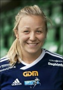 Emma Svärd gav SDFF ledningen i matchen.