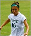 Jessica Hurtado satte 1-0 på straff.