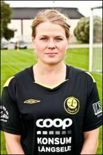Långsele AIF:s Anna Mikaelsson ligger i topp i skytteligan. Foto: Anna Mähler