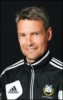 """Ulrik Norberg (bilden) och vapendragare Lars """"Laban"""" Andersson, fortsätter träna MIF."""