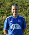 Amanda Hamrin gjorde 1-0-målet.