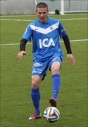 Tobias Rappson gjorde mål igen för Sollefteå-giffarna. På straff denna gång. Foto: Solllefteå GIF:s hemsida.
