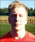 Förre Selånger- och GIF-spelaren Christoffer Milde målade för Anundsjö i derbyt mot Härnösand.
