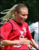 Simone Edefall satte två nya fullträffar i derbyt mot HSK.