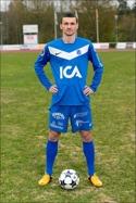 Eugeniu Samson kvitterade i den 94:e minuten för SGIF i derbyt mot Frånö. Foto: Solllefteå GIF:s hemsida.
