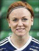 Pernilla Wennman gjorde det viktiga 3-2-målet för SDFF i toppmötet med Notviken.