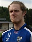 Axel Hedenström, inlånad keeper i Alnö.