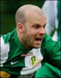 Slitvargen Christer Eriksson drömmålade för Kovland mot Nät-ra GIF.