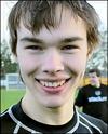Oskar Vedin svarade för hälften av Med-skogs fyra mål mot Lucksta.