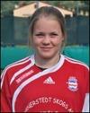 Två mål i derbyt kom från Clara Högboms fötter.