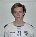 17-årige Kevin Sund-ström hoppade in och reducerade för IFK Timrå.