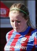 Sanna Lööw Ohlson gjorde 0-2-målet.