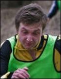 Ted Carlsson, ett mål själv och låg bakom Ljungas två övriga när man bröt Ånges segersvit.