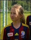 Linn Jonsson blev tvåmålsskytt mot Edsbyn.
