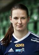 Kajsa Nordmark var en av tre SDFF-tjejer som gjorde come-back i 5-0-vinsten mot Kiruna.