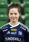 Philippa Johansson gjorde hattrick mot Heffnersklubban 2.