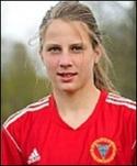 Tränardottern Sophie Brundin svarade för hälften av Alnös mål mot Myssjö/Oviken.