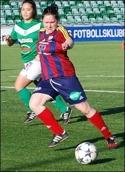 Efter dagens två mål mot Assi landade Selånger Angelica Lindholm-Forsell på tredje plats i division 1 Norrlands skytteliga.