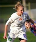 Isabella Öbergs straffmål höll på att räcka till poäng.