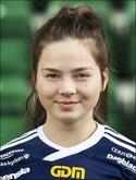 Philippa Johansson kvitterade till 2-2.