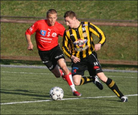Daniel Johansson till Essvik - årets värvarbomb i den lokala fotbollen? Foto: Friska Viljors hemsida.