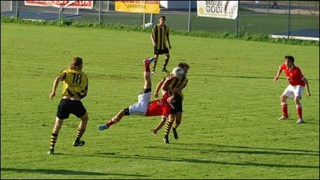 Admir Adra, Svartviks IF, vann skytteligan ifjol på fina 18 mål. Vem vinner i år? Foto: Janne Pehrsson, Lokalfotbollen.nu.