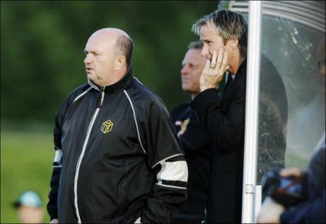 Bert Stålberg och Göran Sundqvist, här tillsammans i Kuben 2010. Foto: Mathias Johansson.