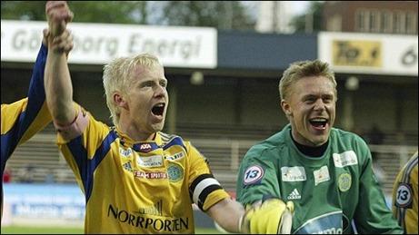 Patrik Eriksson-Ohlsson och Fredrik Sundfors spelar med GIF Sundsvall i Legends Cup i Östersund i helgen.. En turnering som enbart är öppen för mogna män.