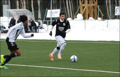 Gustavo Villalobos är nu spelklar för Ånge, både när det gäller övergången och knäskadan. Här har Ånge värvat en riktigt sevärd klasspelare i offensiven. Foto: Janne Pehrsson, Lokalfotbollen.nu.