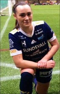 Två nya mål av Cassandra Åström när SDFF 2 vann seriefinalen mot Njurunda med hela 5-0-