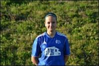 Amanda Hamrin är tillbaka efter knäskada och gjorde mål direkt i comeabcken.
