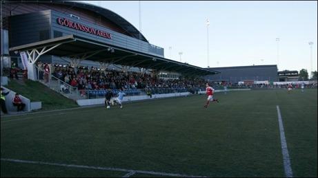 Jernvallen i Sandviken var den arena som drog mest publik i division 2 Norrland 2014.